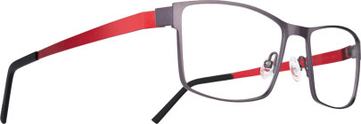 ZAG 7 ZAG62 anthracite/rouge